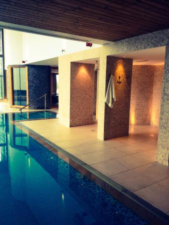 Indoor Pool Picture Of The Scarlet Hotel Mawgan Porth Tripadvisor