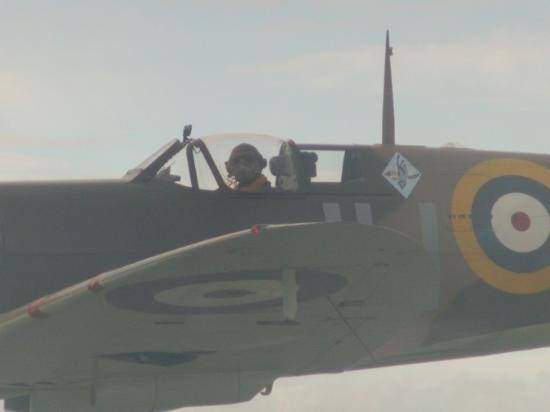 New Romney, UK: Action Stations Fly with a Spitfire Paul Davies