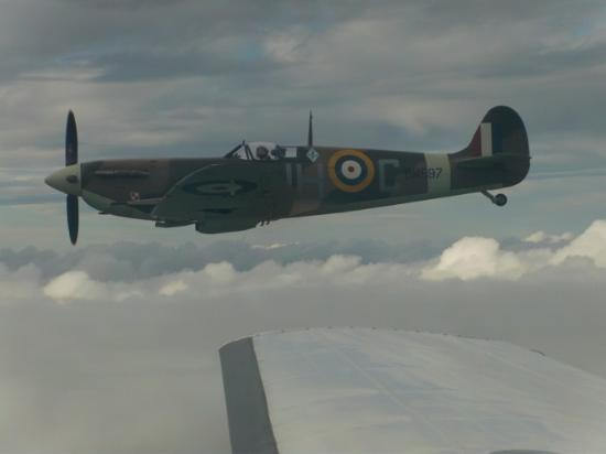 New Romney, UK: Spitfire V Action Stations.Paul Davies