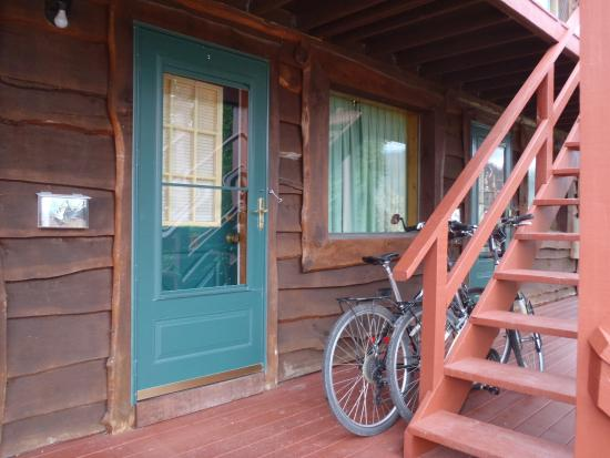 Ohiopyle, PA: our room - allowed us to take bikes into the room