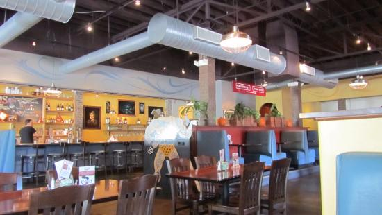 Table Seating As Well Picture Of Ethos Vegan Kitchen Winter Park Tripadvisor