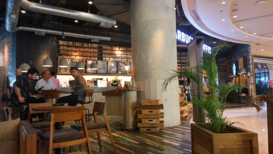 The Entrance Picture Of Starbucks Grand Indonesia
