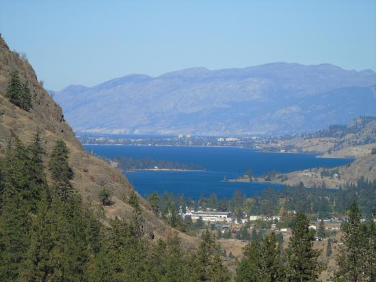 Okanagan Falls, Canada: Looking over Lake Okanagan
