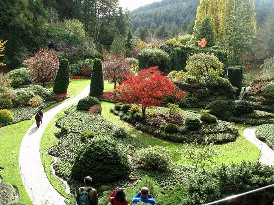 The Old Quarry Picture Of Butchart Gardens Central Saanich Tripadvisor