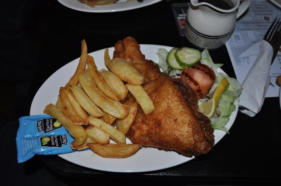 St Johns, UK: Fish & Chips