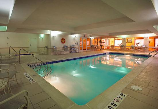 Indoor pool picture of residence inn mississauga airport for Pool show mississauga