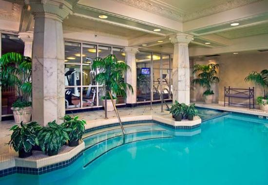 Indoor Pool Picture Of Courtyard By Marriott Washington Convention Center Washington Dc