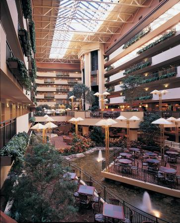 Garden Atrium Picture Of Embassy Suites By Hilton Omaha Downtown Old Market Omaha Tripadvisor