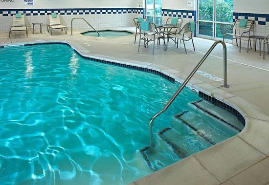 Indoor Pool Picture Of Fairfield Inn Suites Detroit Metro Airport Romulus Romulus Tripadvisor