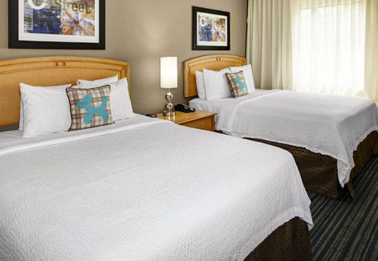 Double Double One Bedroom Suite Sleeping Area Picture Of TownePlace Suite