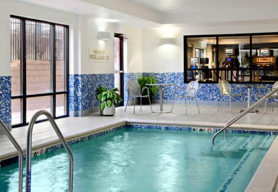 Indoor Pool Picture Of Springhill Suites St Louis Brentwood Brentwood Tripadvisor