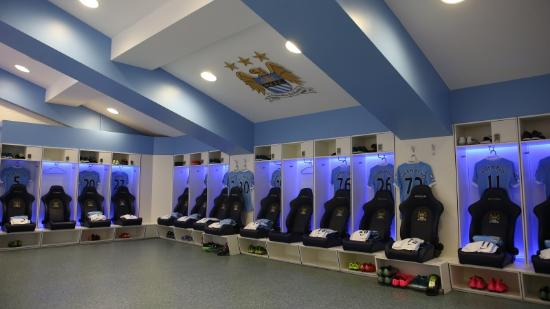 Manchester City Home Team Changing Room Picture Of