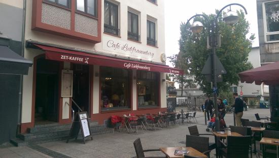Picture of cafe liebfrauenberg frankfurt for Liebfrauenberg frankfurt