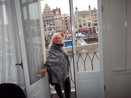 Great Balcony Views Picture Of Hotel Cc Amsterdam