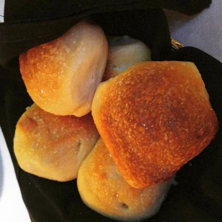 Marion, IA: Fresh Made Rolls to start the meal