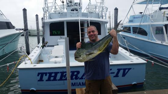 Part of our catch picture of miami deep sea fishing for Deep sea fishing miami