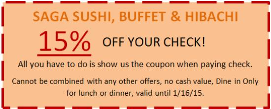 image regarding Hibachi Grill Supreme Buffet Coupons Printable named Amber buffet hibachi discount coupons - Hawaiian rolls discount codes 2018