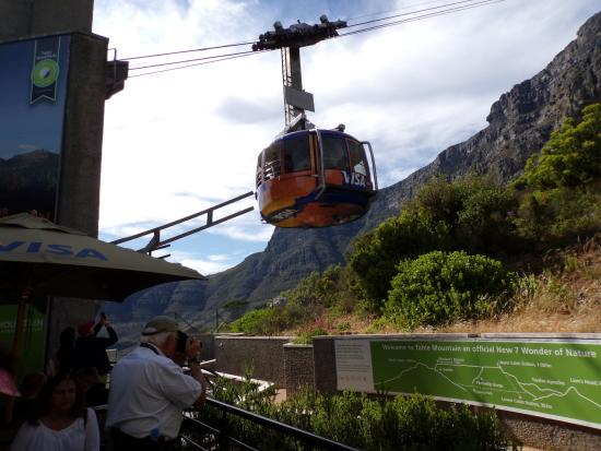 cable car Picture of Table Mountain National Park Cape