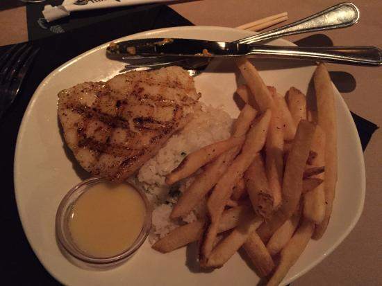 Chilean sea bass picture of bonefish grill west des for Fish bone grill