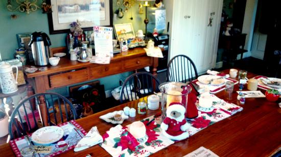 Chadds Ford, PA: Breakfast table