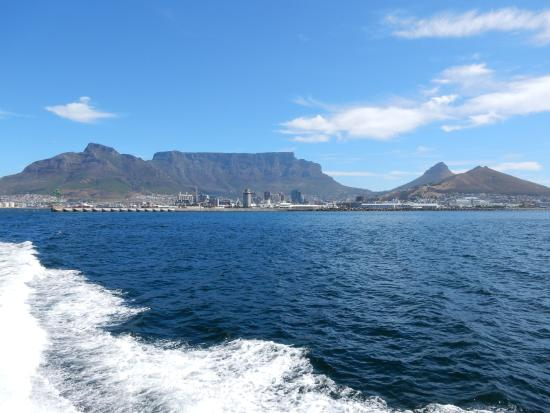 View of table mountain picture of robben island cape - Robben island and table mountain tour ...