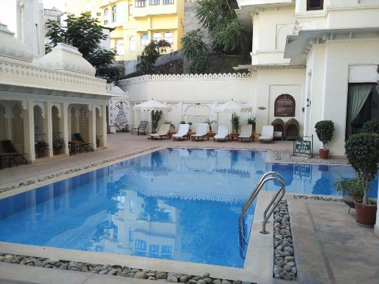 Swimming Pool Picture Of Hotel Swaroop Vilas Udaipur Tripadvisor