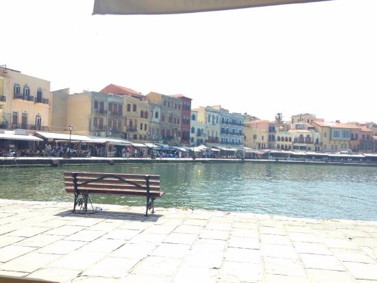 chania - Picture of Old Venetian Harbor, Chania Town ...