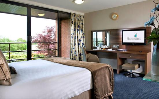 Guest bedroom picture of abbey hotel golf spa for Abbey road salon
