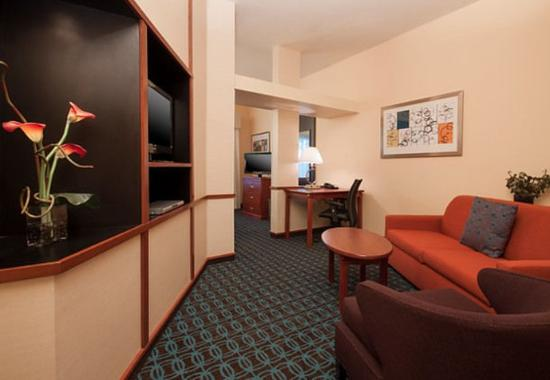 King Studio Suite Living Area Picture Of Fairfield Inn