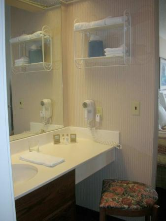 Creative ToiletShower In Bathroom Area  Picture Of Hyatt Place Kansas City