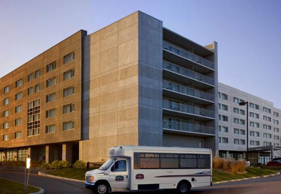 Airport Shuttle Service Picture of Marriott Residence