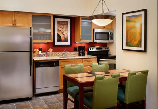 Two Bedroom Suite Kitchen Picture Of Residence Inn St Louis Galleria Richmond Heights