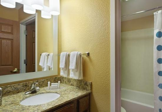 two bedroom suite bathroom picture of towneplace suites tampa north