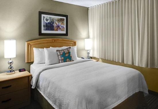 One Two Bedroom Suite Sleeping Area Picture Of TownePlace Suites A