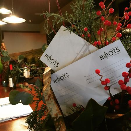 Meaford, Canada: Gift certificates available for those in the spirit of giving