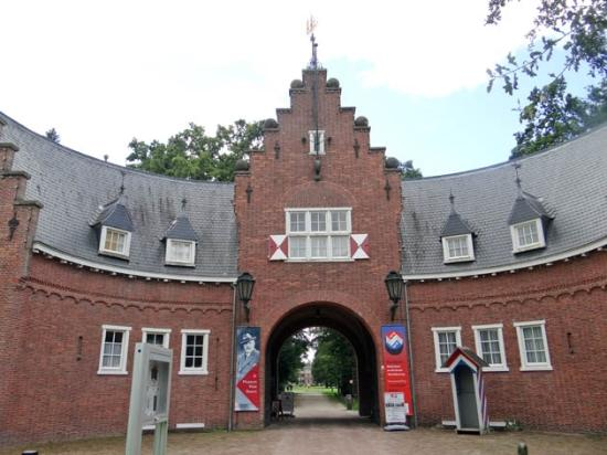 Doorn, The Netherlands: the gate