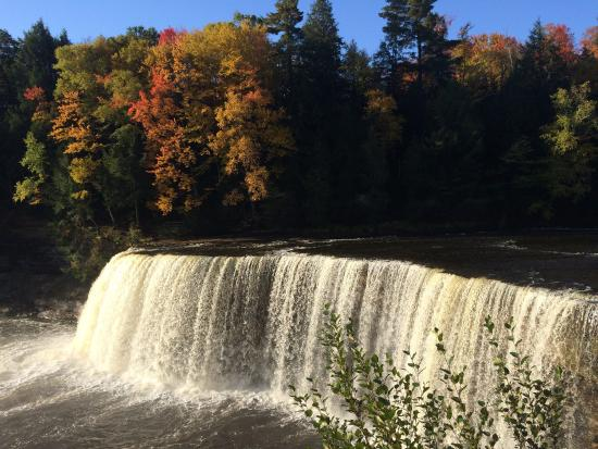 Picture of tahquamenon falls state park for Cabins near tahquamenon falls