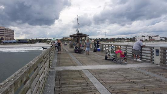 Actividad picture of jacksonville beach fishing pier for Fishing piers in jacksonville fl