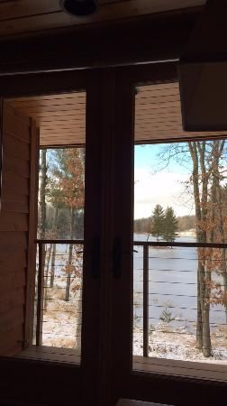 Chetek, WI: View from bedroom