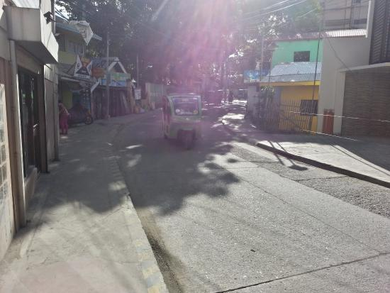 Patio Pacific Boracay Main Road Early In The Morning