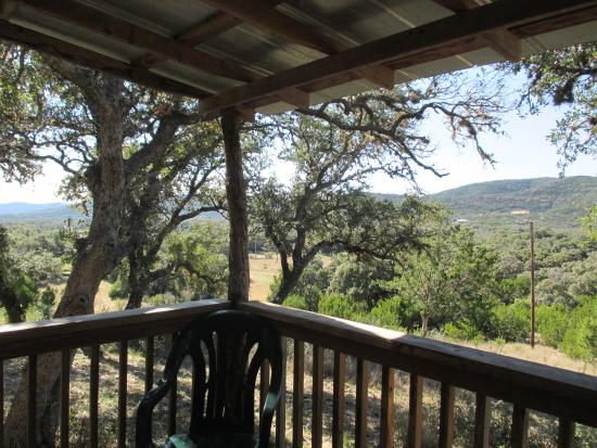 Leakey, TX: View from the back porch