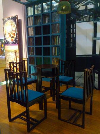 Mackintosh chinese room design for the ingram street tea for Designer room glasgow