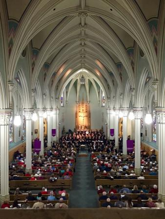 Austin, MN: View of the sanctuary from the choir loft