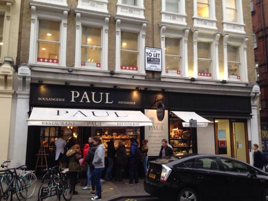 Picture of le restaurant de paul covent for Cafe de jardin in covent garden