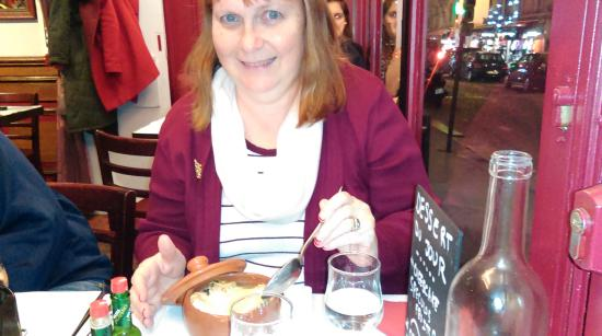 Enjoying the french onion soup picture of l anvers du