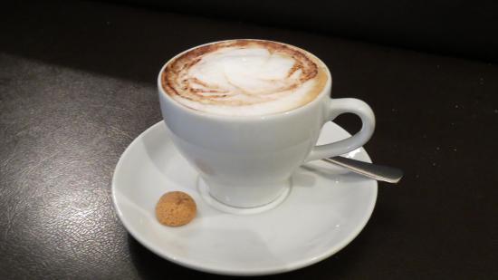 Wertheim, Germany: cremiger Cappuccino