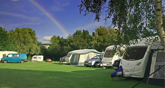 Elegant  Static Caravan Holiday Hire At Severnside Tewkesbury Gloucestershire