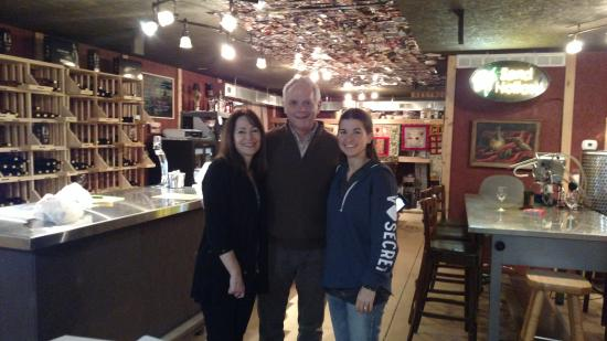 Heath, OH: Sand Hollow Winery....(left to right-Owners Cindy, Jim, and my fiancee, Carey)