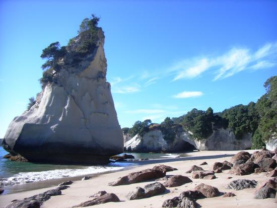Hahei, New Zealand: Cathedral Cove