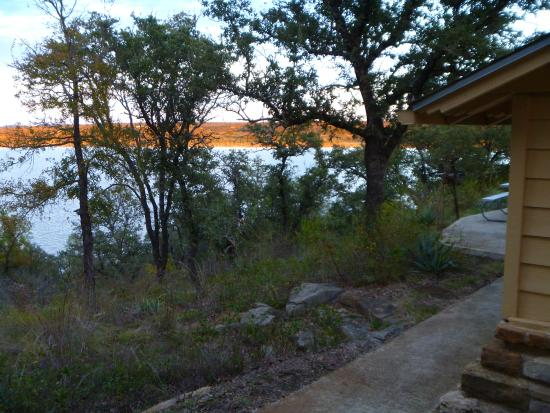 Brownwood, TX: Forest/lake view from cabin
